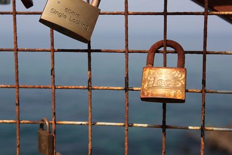 一生一緒にいようね。という鍵