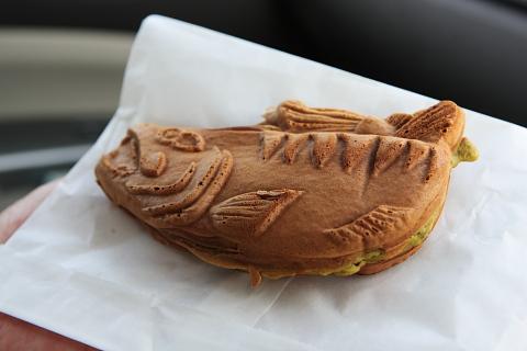 鮭の形をした鮭焼?