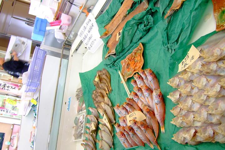 岩船港 漁師市場