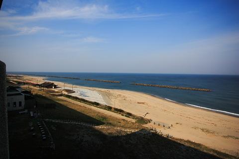 ホテル瀬波観光からの眺め