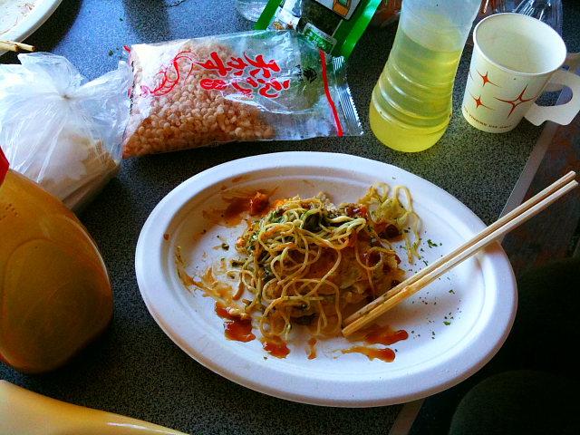 広島風お好み焼きモドキ