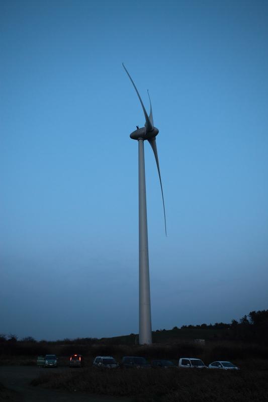 秋田市新屋 風力発電