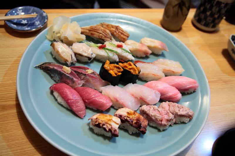 ミキ寿司のおまかせ寿司
