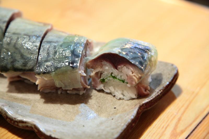 ミキ寿司の鯖棒寿司