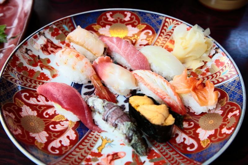 寿司喜の特上にぎり寿司。2620円