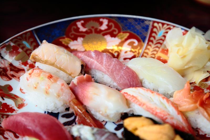 寿司喜の特上にぎり寿司