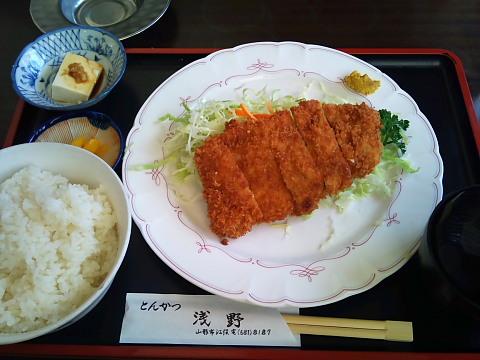 とんかつ浅野 トンカツランチ650円