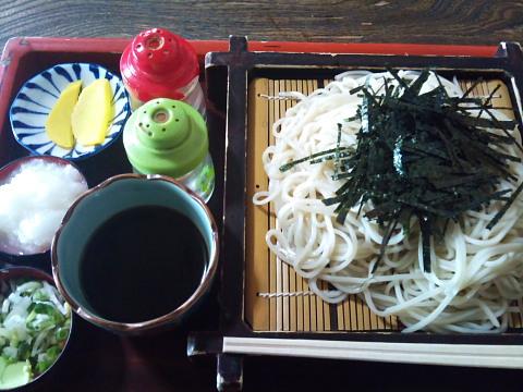 村尾そば 上ザル蕎麦
