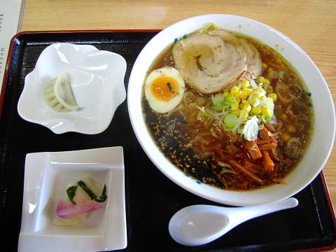 大野木らーめん 醤油ラーメン620円也