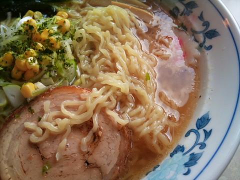 だるまやラーメン 細麺