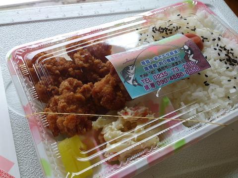 キッチン24の鶏唐揚げ弁当。シンプル・イズ・ベスト。