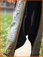 モン族アラジンパンツ