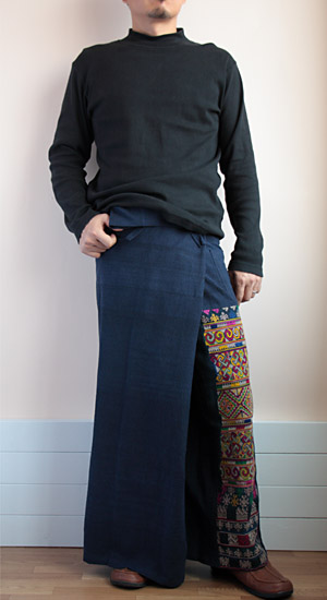 ヤオ族刺繍タイパンツ