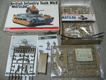 MATILDA  Infantry Tank MkⅡ