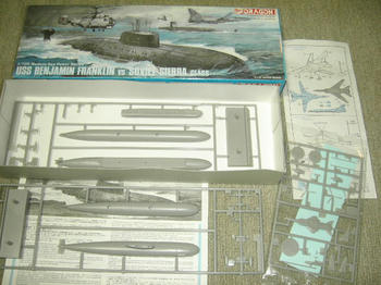 USS B.FRANKLIN &SOVIET SIERRA