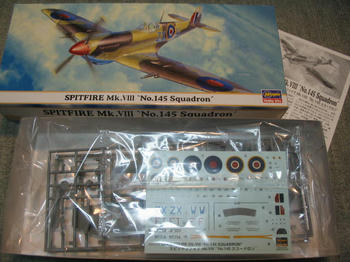 SPITFIRE Mk.Ⅷ No.145 Spuadron
