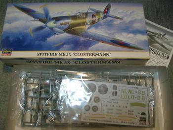 SPITFIRE Mk.Ⅸ CLOSTERMANN