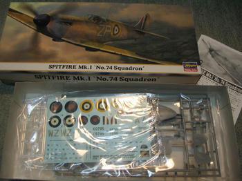 SPITFIRE Mk.Ⅰ No.74Squadron