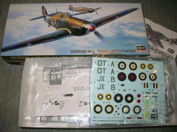 HURRICANE Mk.1 LATE TYPE BATTLE OF BRITAIN