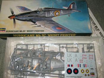 HURRICANE Mk.ⅡC NIGHT FIGHTER