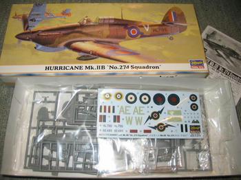 HURRICANE Mk.ⅡB No.274Squadron
