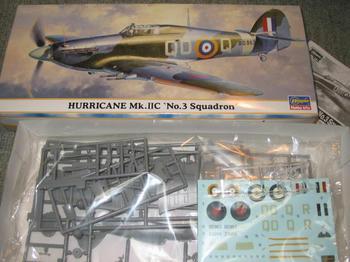 HURRICANE Mk.ⅡC No.3Squadron