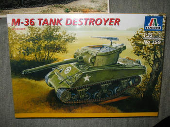 M-36 TANK DESTROYER