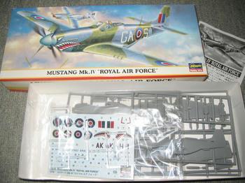 MUSTANG Mk.Ⅳ RAF