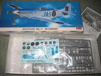 MUSTANG Mk.Ⅳ HUNSDON