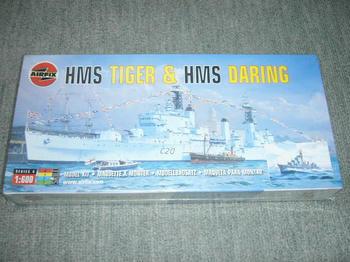 HMS TIGER /HMS DARING