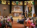 教会での収穫感謝の日