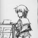 色紙(相方さん作)