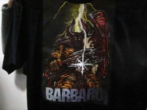 バルバロイTシャツ