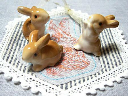 子ウサギ3兄弟