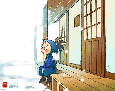 雪が降る日