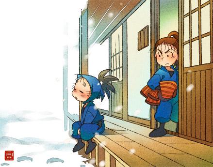 雪が降る日2