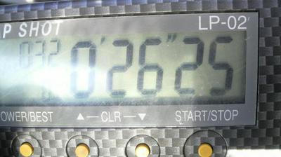 トミン26秒25
