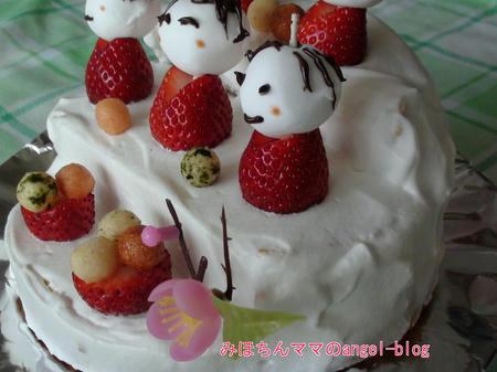 ひな祭り・雛壇ケーキ