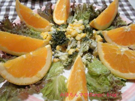 サラダ&フルーツ