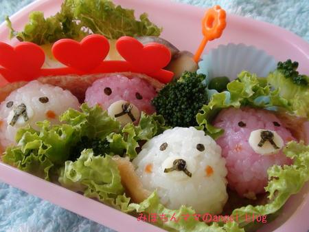 稲荷寿司でキャラ弁