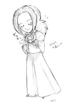 ジャキとお人形。