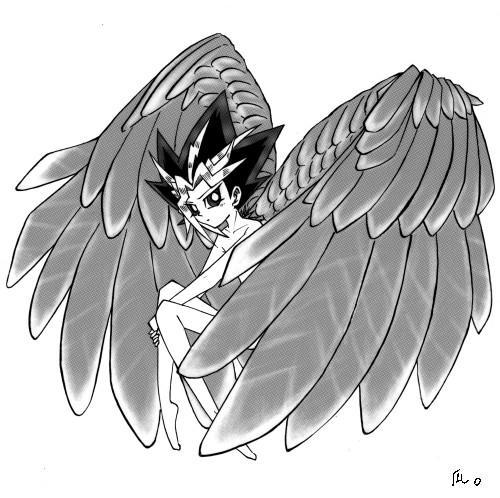隼の翼を持って。
