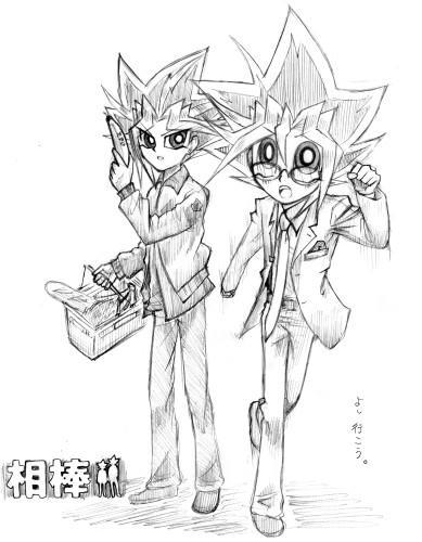 右京さんと亀山君。