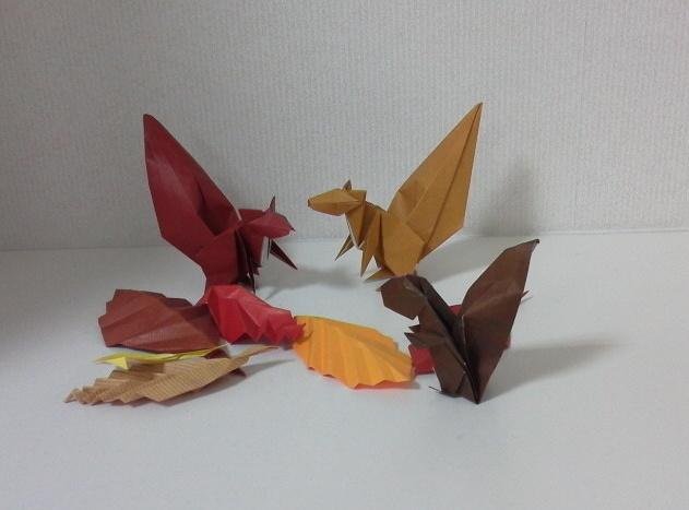 簡単 折り紙 秋の折り紙折り方 : opal7.blog.shinobi.jp