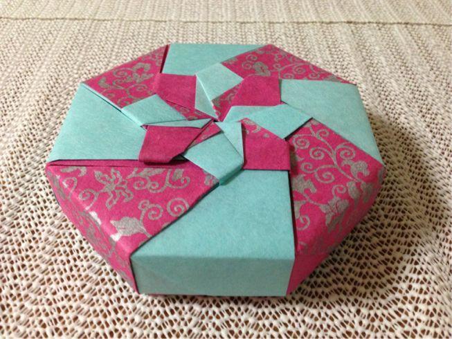 紙 折り紙 新聞紙 折り紙 箱 : ... 箱にはあまり向いていません