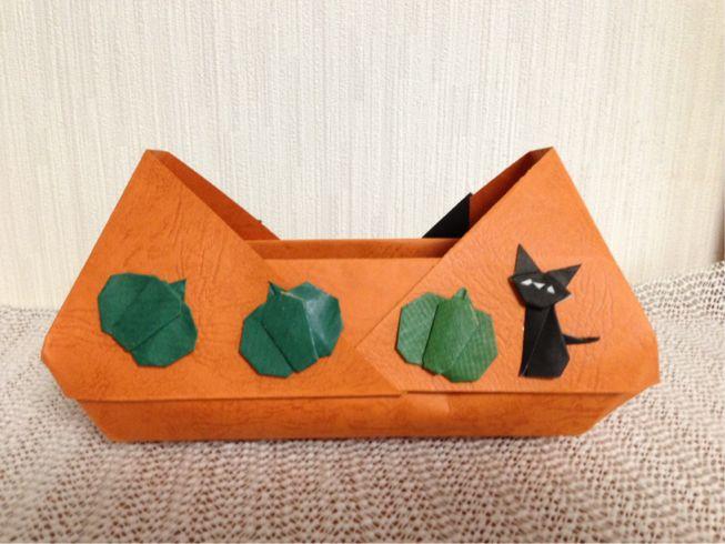 クリスマス 折り紙 折り紙 ハロウィン かぼちゃ : opal7.blog.shinobi.jp