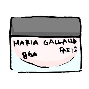 マリアギャラン 96A イラスト