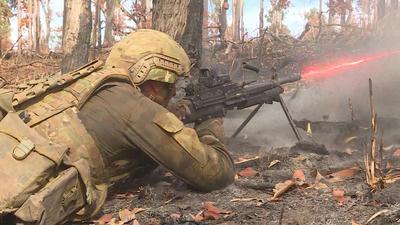 サザンジャッカルー19,陸上自衛隊,米海兵隊,陸自,オーストラリア陸軍,日豪米合同訓練,155mm榴弾砲,FH70,シャナハン長官代行
