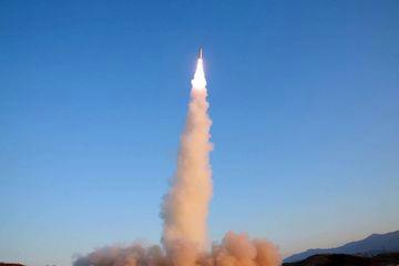高高度迎撃用ミサイル,スラスタ,北朝鮮,弾道ミサイル,テポドン,ケプラー,射程角,ミサイル防衛,