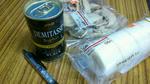 国産米粉のロールケーキとモッチチョコ